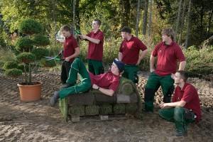 Unsere Auszubildende lernen Landschaftsbau und Landschaftsbau in Lüneburg