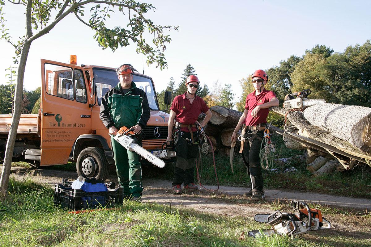 Unser Baumpfleger Team