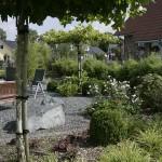 Garten mit Teilbereich