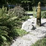 Wasserspiel und Natursteine